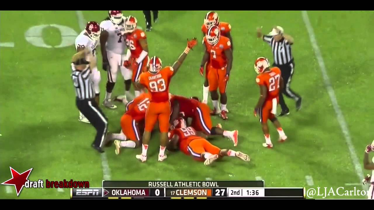 DeShawn Williams vs Oklahoma (2014)