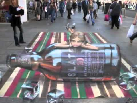 Fantastic Sidewalk Art (The Chalk Guys)