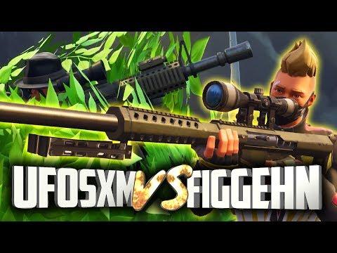 UFOSXM VS FIGGEHN   Fortnite (hemlig buske)