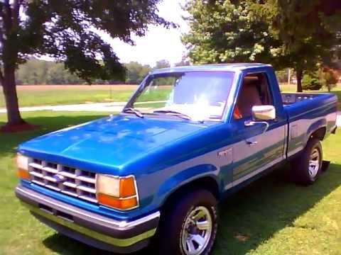 1992 Ford Ranger 2 9l V6 Youtube