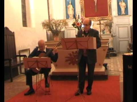 Gaspar Sanz - Danza de las hachas - Duo Démarez-Cassignol