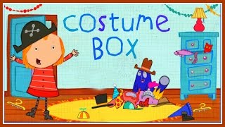 ♡ Peg + Cat - Costume Box Creative Educational Dress Up Video Game For Children English