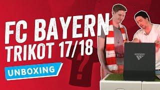 UNBOXING: Das neue Bayern-Trikot der Saison 2017/18 + BAYERN TRIKOT ZU GEWINNEN