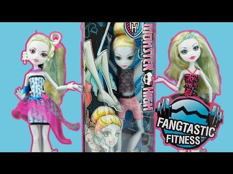 Monster High Fangtastic Fitness Lagoona Blue Doll Review and Comparison
