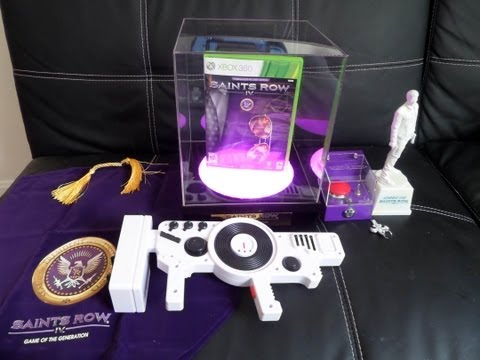 Unboxing Saints Row IV Emperor Zinyak's Game of the Generation Edition