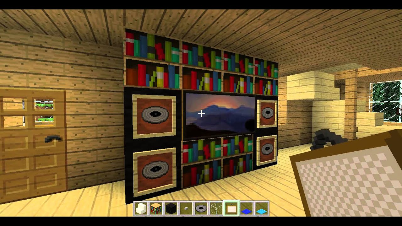 Cum sa iti decorezi casa in minecraft episodul 8 39 39 sufrageria 39 39 youtube for Minecraft how to build a modern living room