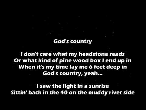 God's Country - Blake Shelton Lyrics