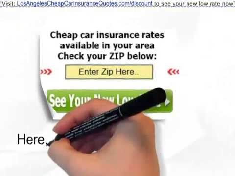 Auto Insurance Quotes Los Angeles | Cut Rates In Half* - Try it out