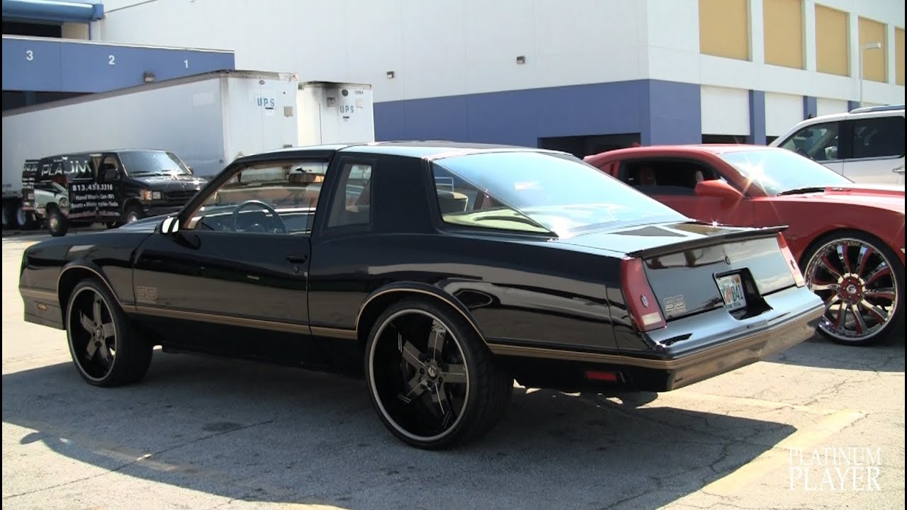 2014 Chevy Malibu For Sale >> MONTE CARLO SS AEROCOUPE on 22 INCH FORGIATO LINEE - YouTube