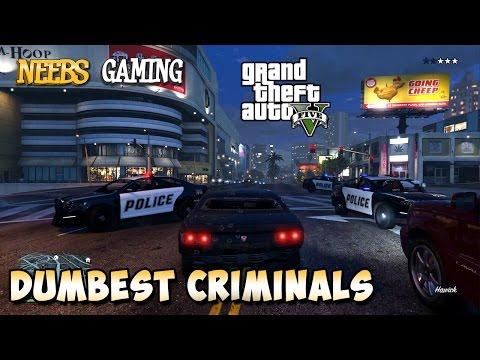 Dumbest Criminals Of All Time - GTA 5