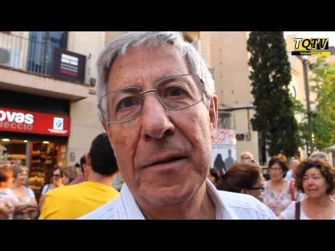 Els terrassencs favorables a la Consulta demanen més compromís a l'Ajuntament de Terrassa i al PSC