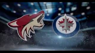 ARIZONA COYOTES vs WINNIPEG JETS (Jan 18)