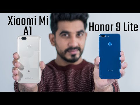 Honor 9 Lite vs Xiaomi Mi A1: Comparison overview Hindi हिन्दी (Please refer to the pinned comment)