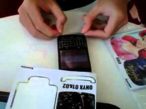 Cara Pasang Skin BlackBerry   YouTube