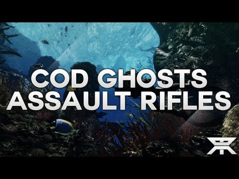 NEW Call of Duty Ghosts - All Assault Rifles With Gameplay Images (ARX-160, AK47, ASP, and More!)