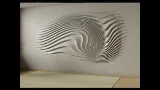 wall relief decoration - interior design