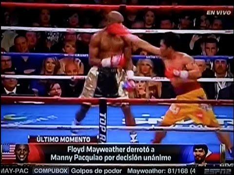 Resumen de la Pelea de Floyd Mayweather Jr vs Manny Pacquiao Fight Highlights