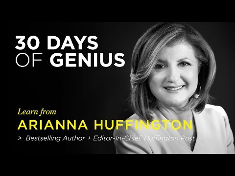 Arianna Huffington on CreativeLive | Chase Jarvis LIVE | ChaseJarvis