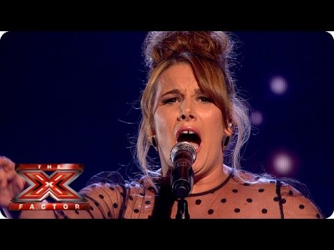 Sam Bailey sings Clown by Emeli Sande - Live Week 8 - The X Factor 2013