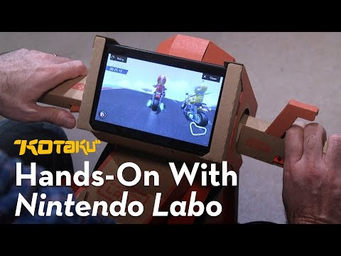 Nintendo Labo: Hands-On #1