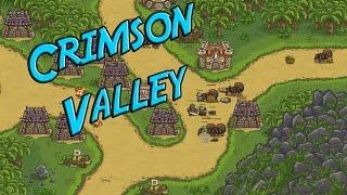 Kingdom Rush Frontiers - Crimson Valley- Veteran 3 Stars