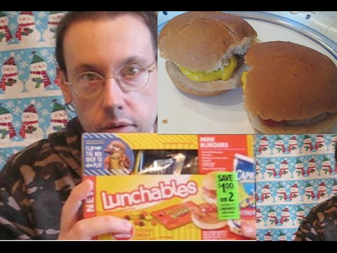 Lunchables Mini Burgers Review