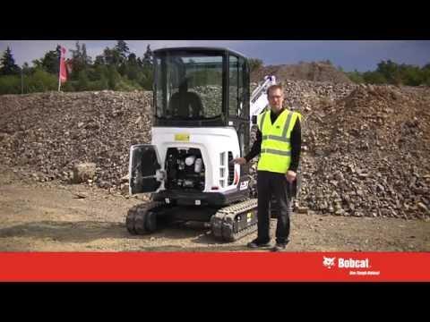 Bobcat E20 Compact Excavator Presentation   Bobcat Equipment