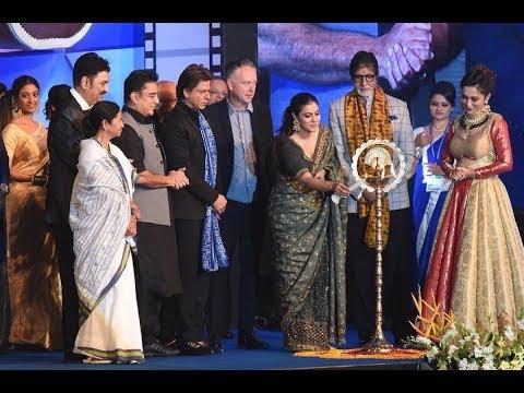 23rd Kolkata International Film Festival - Amitabh Bachchan, Shah Rukh Khan, Mahesh Bhatt and Kajol. thumbnail