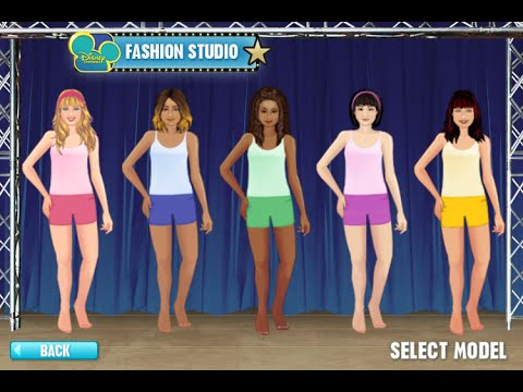 Fashion Games On Disney Channel Disney Channel Fashion Studio