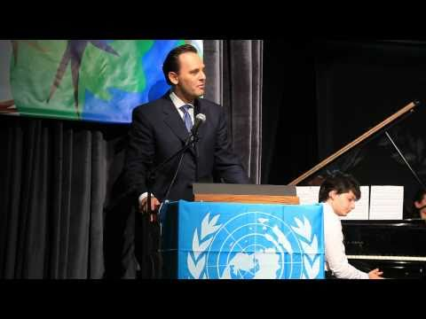Greek FM Droutsas' speech at the opening of the 12th Model United Nations