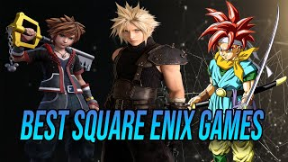Ranking The 10 Best Square Enix Games | Final Fantasy 7 Remake Kingdom Hearts 3 Remind