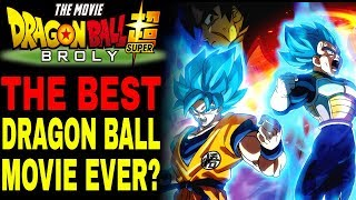 Dragon Ball Super: Broly Movie Review (SPOILER-FREE)