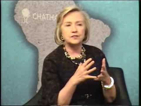Chatham House Prize 2013 - In Conversation with Hillary Rodham Clinton