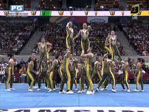 FEU Cheering Squad - 2012 UAAP Cheerdance Competition