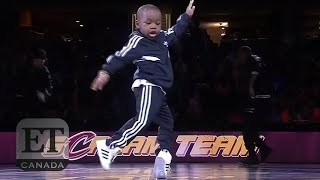 5-Year-Old Dances At Cleveland Cavaliers Half-Time Show