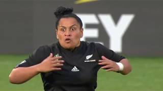 HAKA! New Zealand perform haka after winning the Women