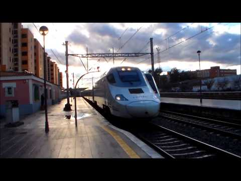 Tarde de Trenes en Játiva