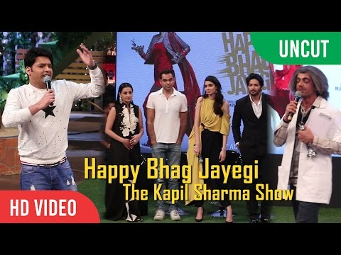 The Kapil Sharma Show- Happy Bhag Jayegi Trailer Launch Special | Abhay Deol, Ali Fazal, Diana Penty