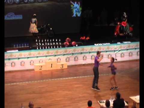 Cathrin Poschenrieder & Felix Schelchshorn - Süddeutsche Meisterschaft 2011