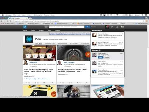 LinkedIn Tutorial 2014 - User Interface and Navigation Tour