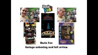 Galaga #09 from Basic Fun, Full unboxing and review (what no defender?!)