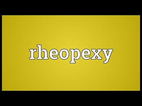 Header of rheopexy