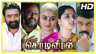 Kodi Veeran Movie Scenes  Police warns Pasupathy