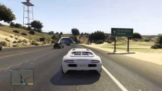 GTA 5 - Bugatti Veyron - Gameplay
