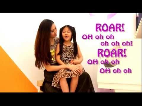 ครูแพมสอนร้องเพลง Roar กับน้องฟาร่า