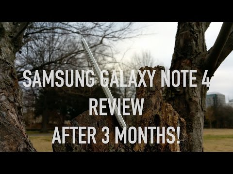 Samsung Galaxy Note 4 Review After 3 Months! (Shot in 4K with the Note 4)