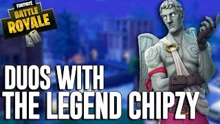 Duos With The Legend Chipzy - Fortnite Battle Royale Gameplay - Ninja
