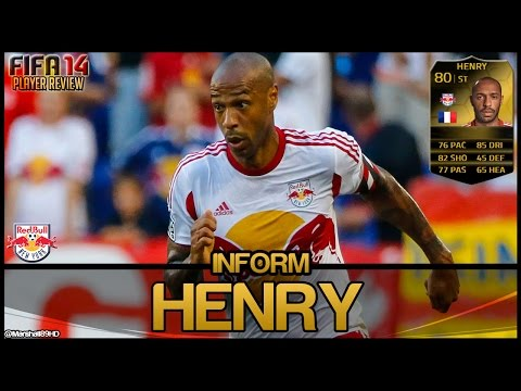 FIFA 14 UT - IF Henry || Inform Team of the Week Ultimate Team 80 Player Review + In Game Stats