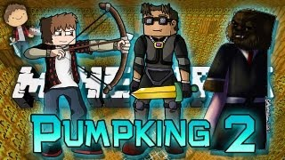 Minecraft: Pumpking Adventure Map w/Mitch, Jerome & Adam! Part 2