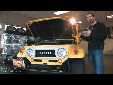 1966 Toyota FJ40 FOR SALE flemings ultimate garage